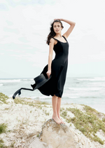 Load image into Gallery viewer, Audrey Midi Dress - Midnight