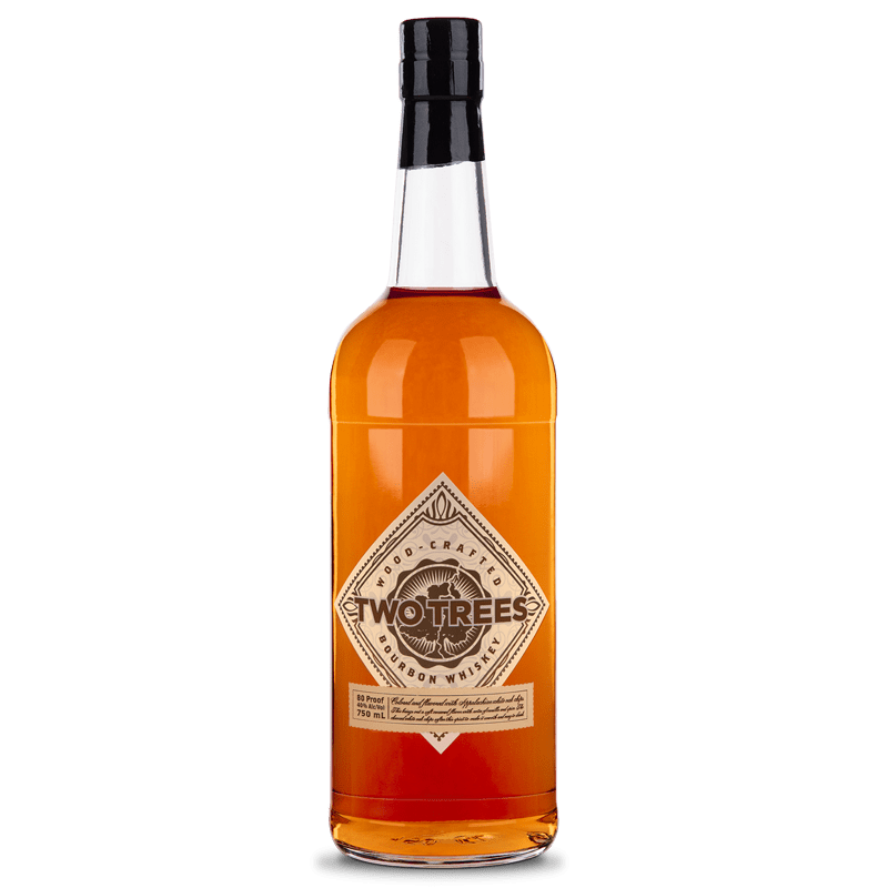 Two Trees Wood Crafted Bourbon Whiskey 750mL