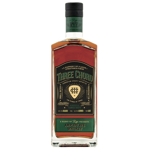 Three Chord Amplify Rye Whiskey 750mL