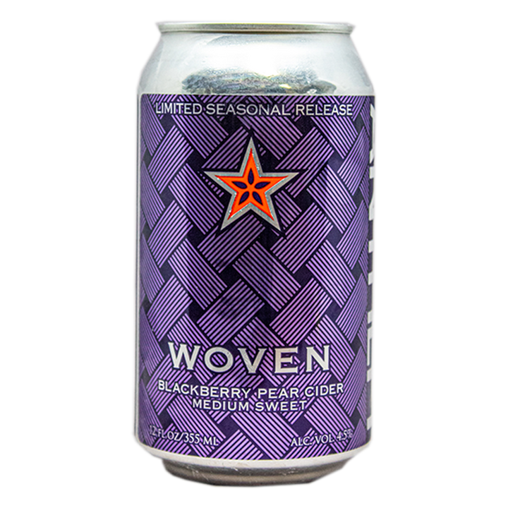 ANTHEM WOVEN BLACKBERRY PEAR CIDER 12.oz