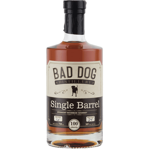 Bad Dog Distillery Single Barrel Bourbon Whiskey 750mL