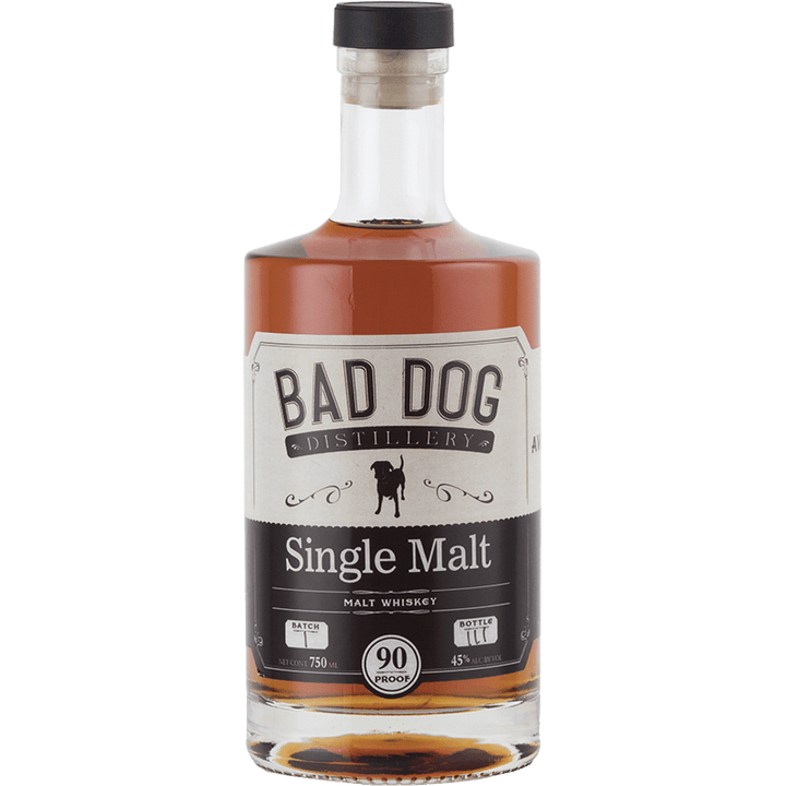 Bad Dog Distillery Single Malt Whiskey 750mL