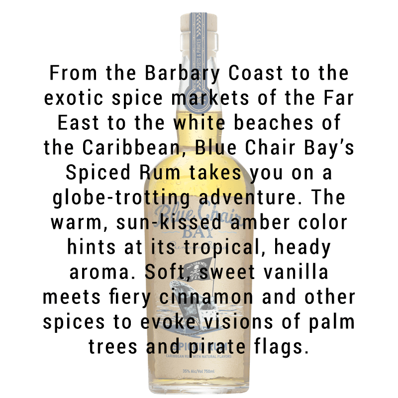 Blue Chair Bay Spiced Rum 750mL