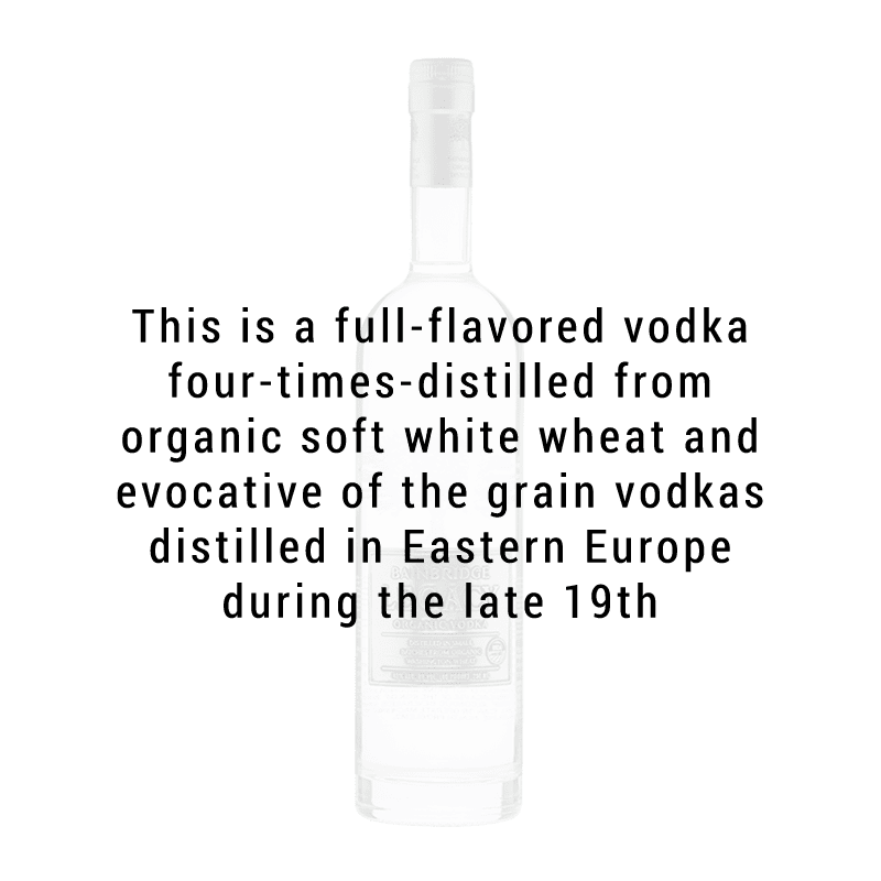 Bainbridge Legacy Organic Vodka 750ml