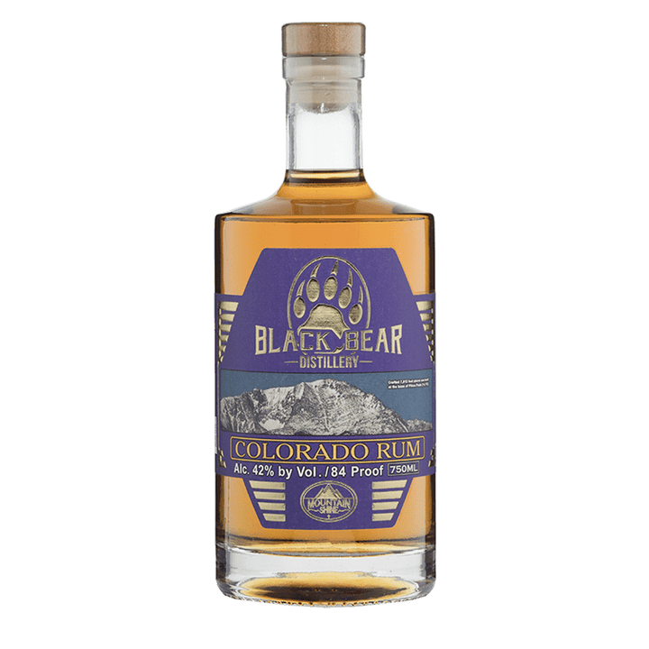 Black Bear Distillery Colorado Rum 750mL buy online great american craft spirits
