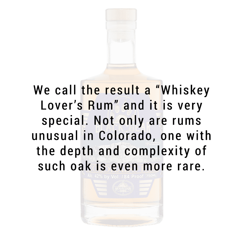 Black Bear Distillery Colorado Rum 750mL