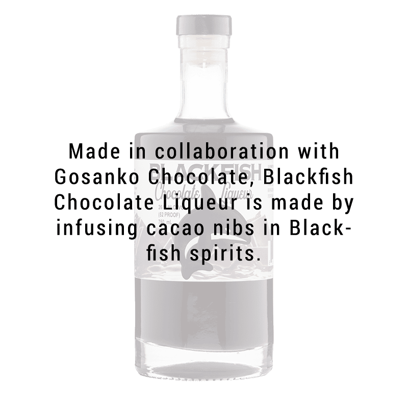 Blackfish Spirits Distillery Chocolate Liqueur 750mL