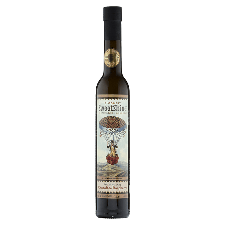 Bloomery SweetShine Chocolate Raspberry Cocktail liqueur 375ml buy online great american craft spirits
