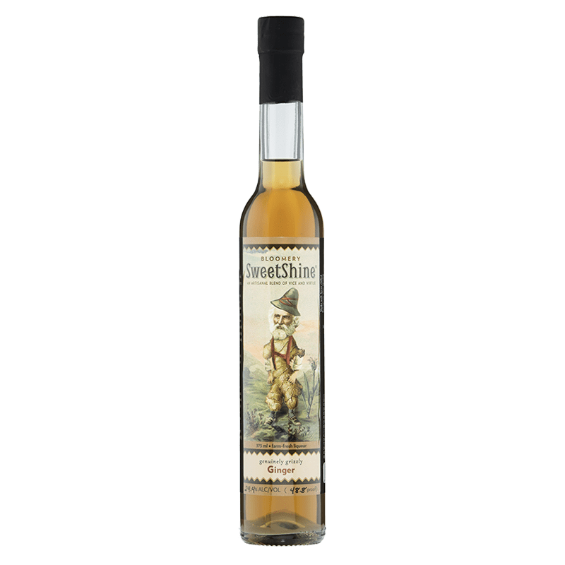 Bloomery SweetShine Ginger Cocktail Liqueur 375mL buy online great american craft spirits