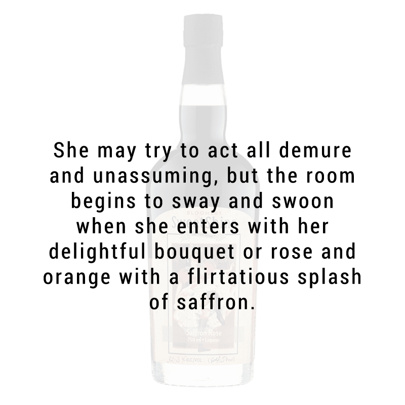Bloomery SweetShine Saffron Rose Liqueur 750mL