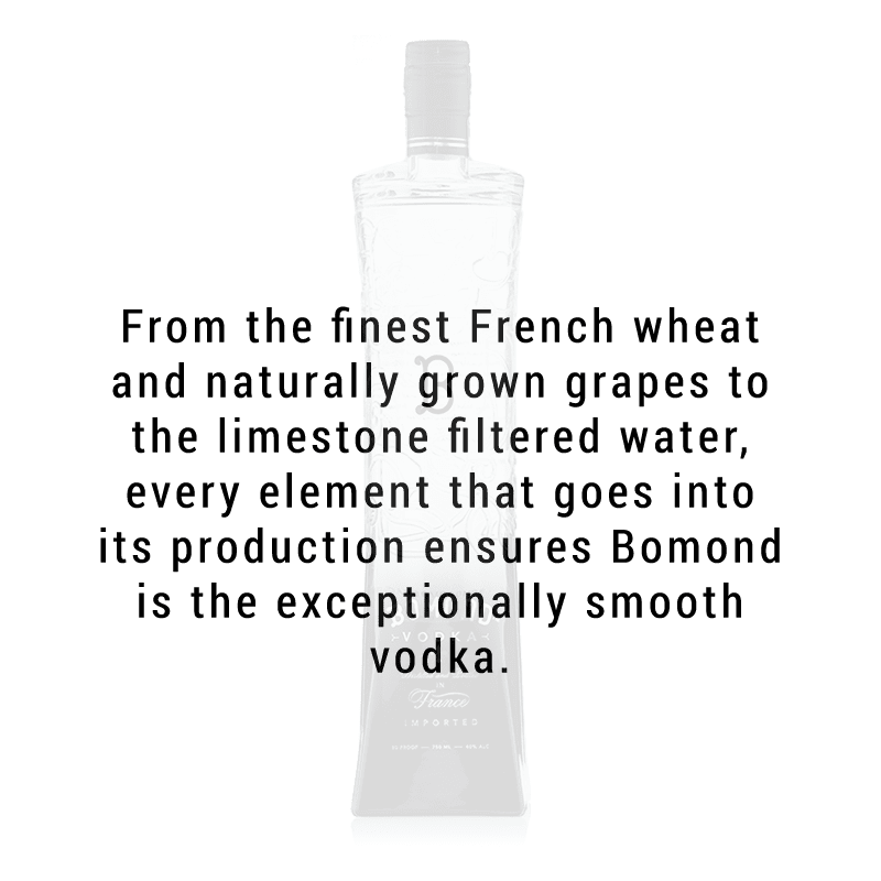 Bomond Vodka 750ml