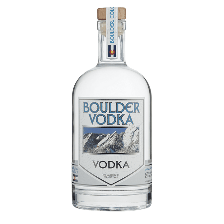 Boulder Spirits Vodka 750mL buy online great american craft spirits