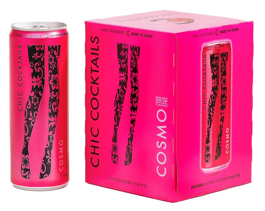 Chic Cocktails: The Cosmo 4 Pack