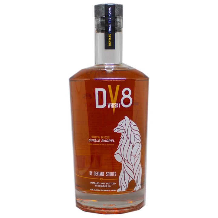 Deviant Spirits DV8 Single Barrel Whisky 750mL