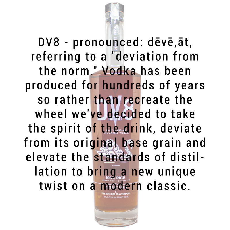 Deviant Spirits DV8 Earl Grey Vodka 750mL