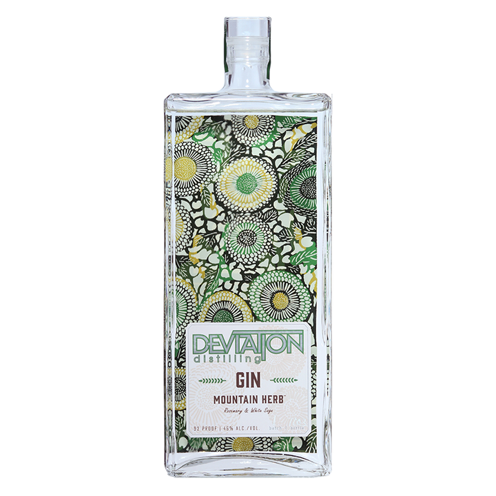 Deviation Distilling Mountain Herb Gin 750mL