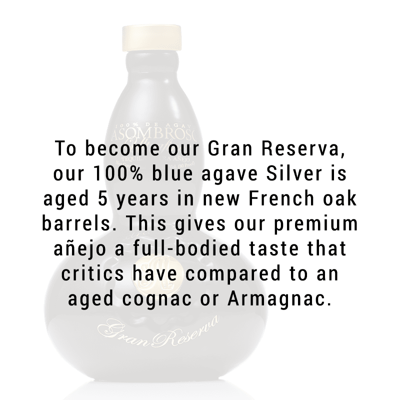 AsomBroso Gran Reserva 5 Year Extra Anejo Tequila 750ml (Buy One, Get One!)