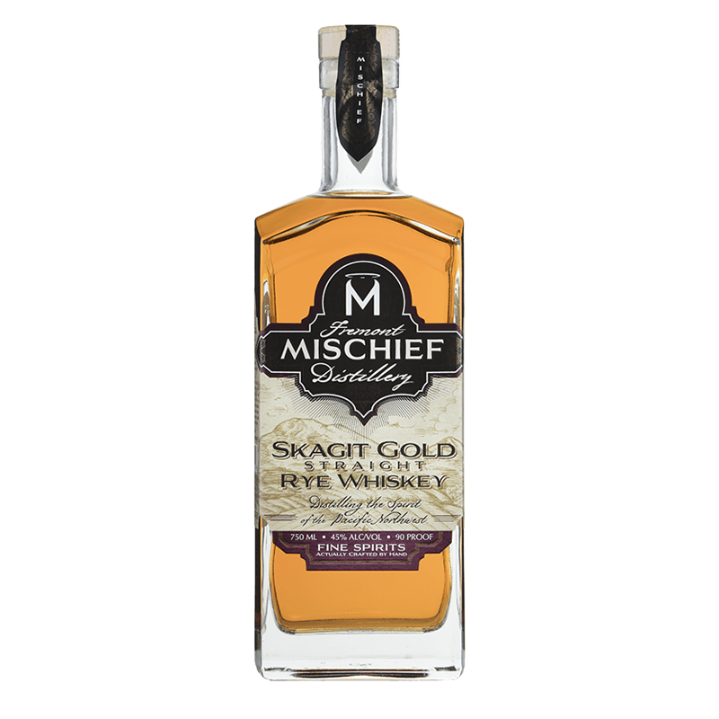 Fremont Mischief Distilling Skagit Gold Straight Rye Whiskey 750ml buy online