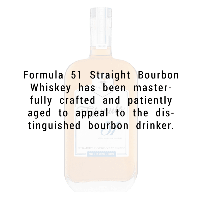 Geek Spirits Formula 51  Straight Bourbon Whiskey 750ml