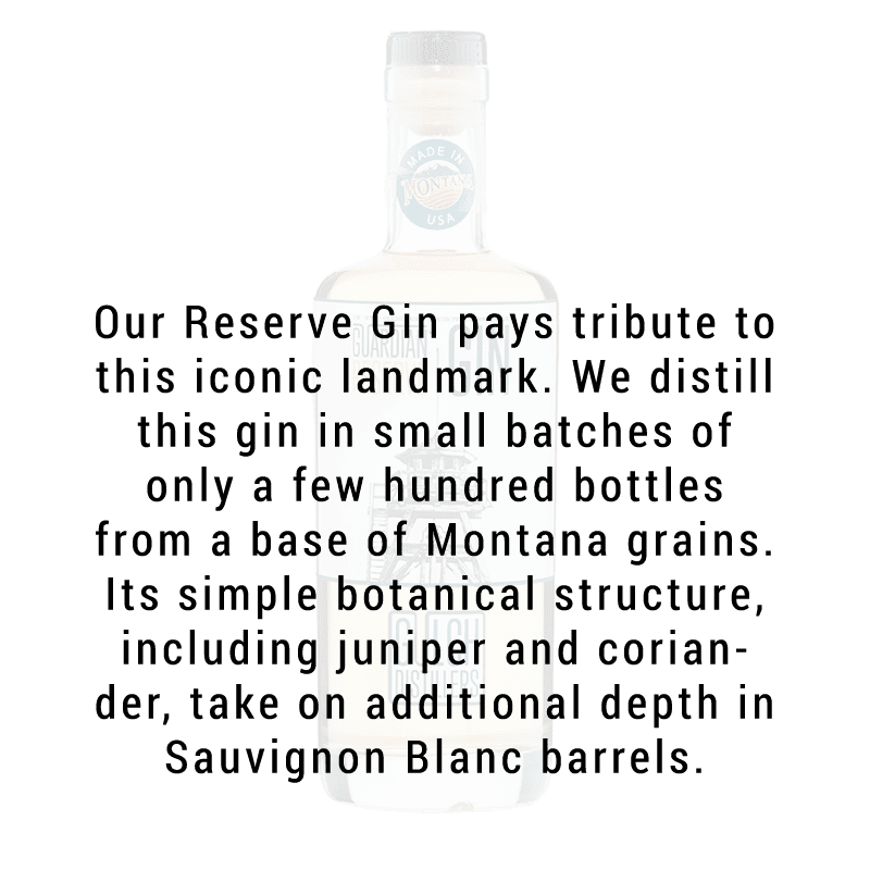 Gulch Distillers Guardian Reserve Gin 750ml