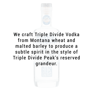 Gulch Distillers Triple Divide Vodka 750ml