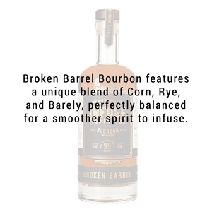 INFUSE SPIRITS BROKEN BARREL BOURBON 750ml