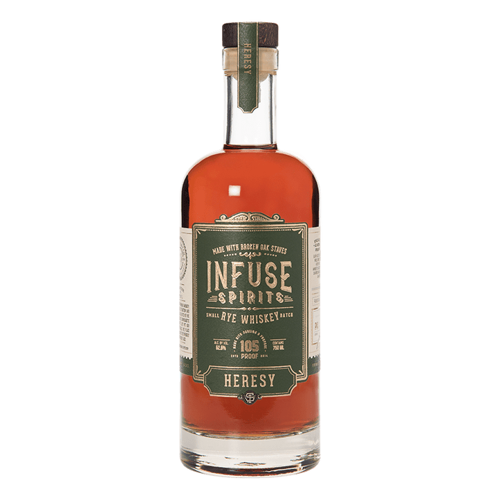 INFUSE SPIRITS HERESY RYE WHISKEY 750ml