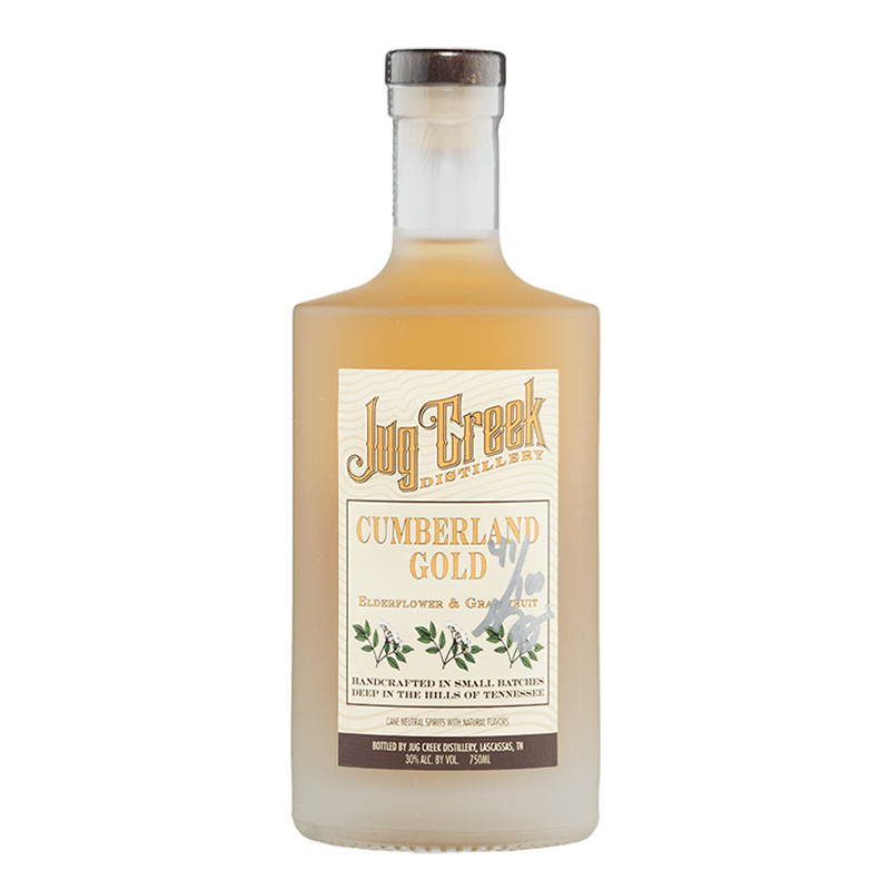 Jug Creek Cumberland Gold  Elderflower & Grapefruit Liqueur 750ml buy online great american craft spirits