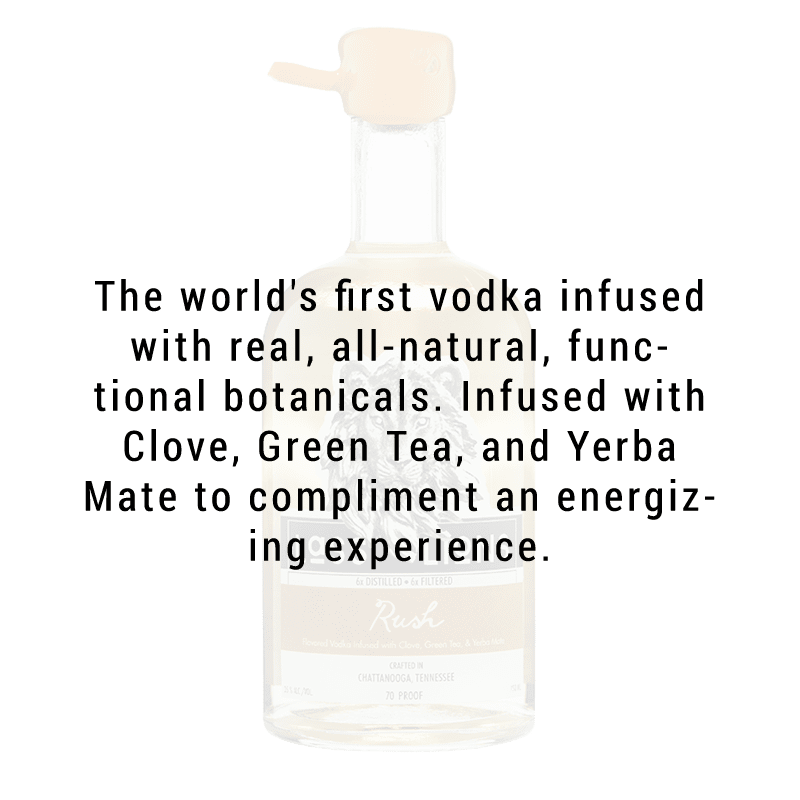 "Lass and Lions ""Rush"" Functional Herb Infused Vodka 750ml"