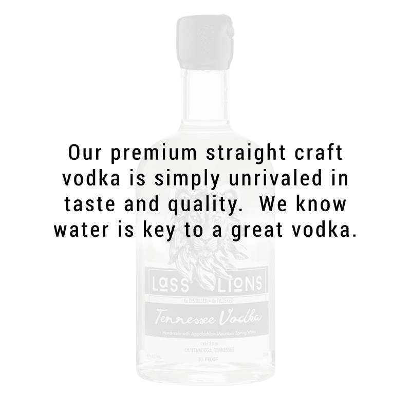 Lass and Lions Tennessee Craft Vodka 750ml