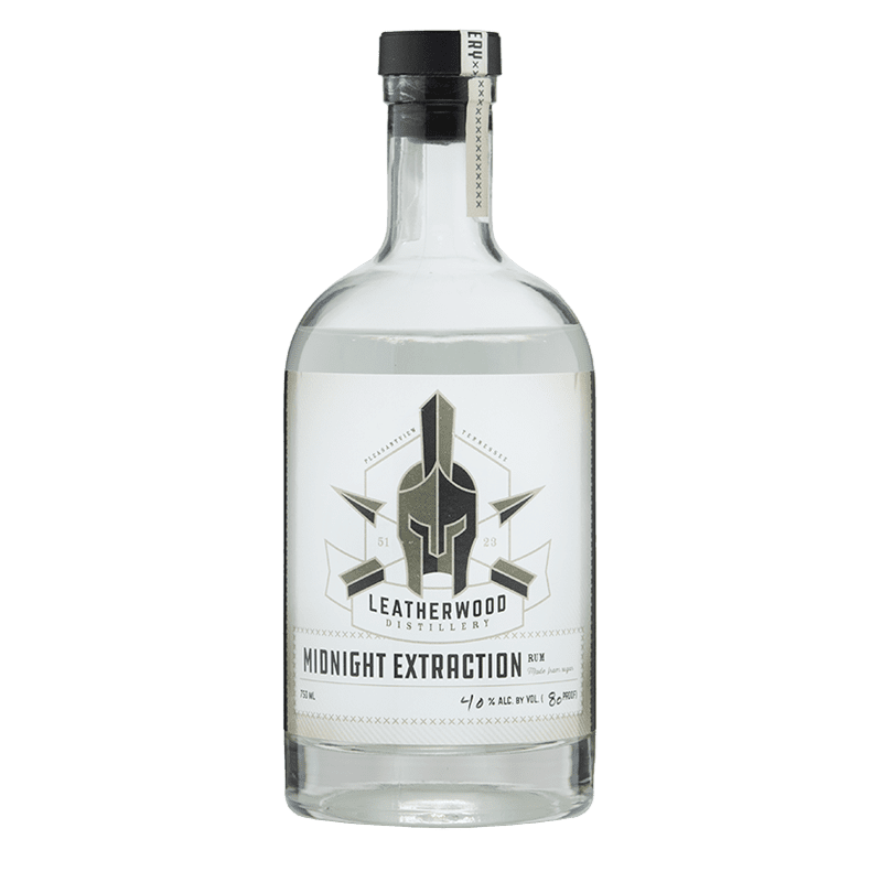 Leatherwood Distillery Midnight Extraction Rum 750ml buy online great american craft spirits