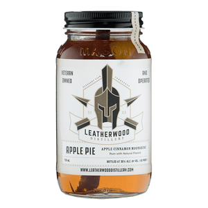 Leatherwood Distillery Apple Pie Moonshine 750ml buy online great american craft spirits