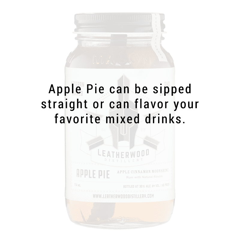 Leatherwood Distillery Apple Pie Moonshine 750ml