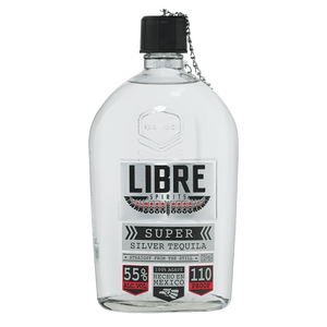 Libre Spirits Super Silver Tequila 750mL
