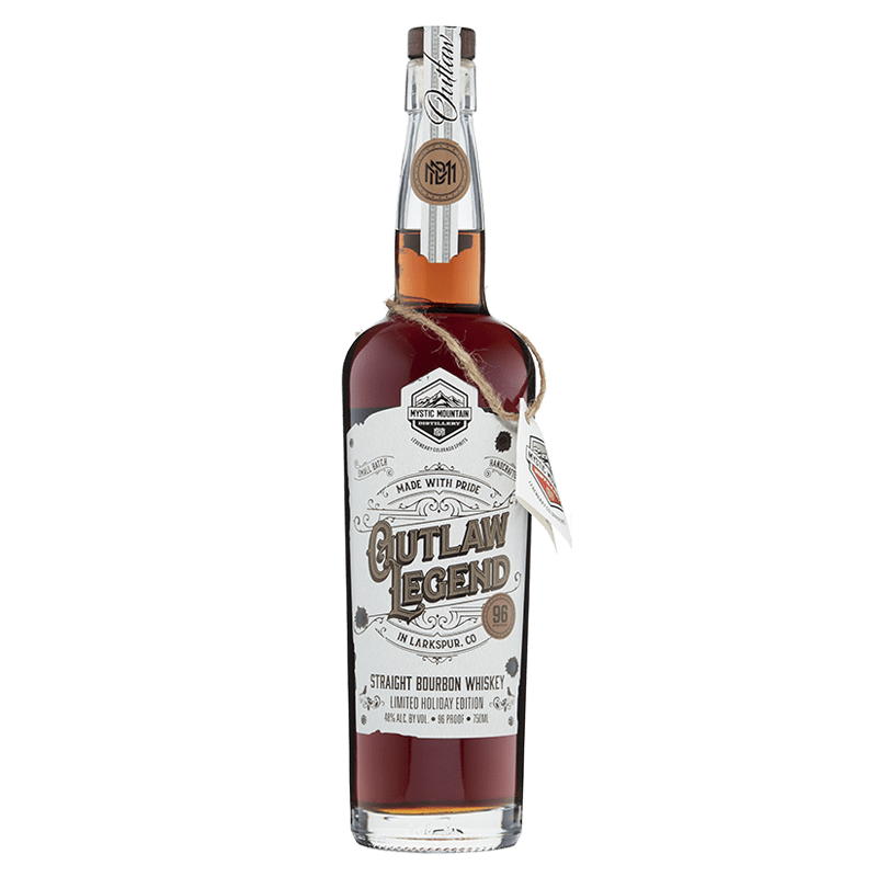 Mystic Mountain Outlaw Legend Bourbon buy online great american craft spirits