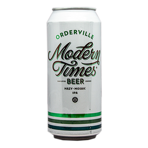 MODERN TIMES ORDERVILLE HAZY IPA 16.oz