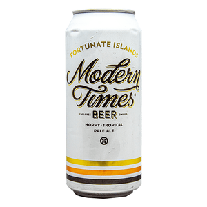 MODERN TIMES FORTUNATE ISLANDS TROPICAL PALE ALE 16.oz