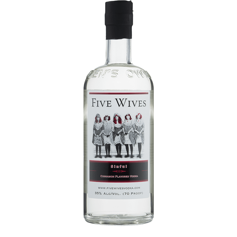 Ogden's Own Distillery Sinful Cinnimon Vodka 750ml buy online great american craft spirits