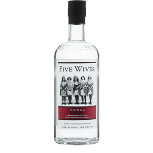 Ogden's Own Distillery Five Wives Vodka 750ml buy online great american craft spirits