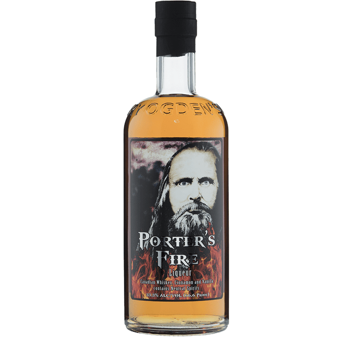 Ogden's Own Distillery Porter's Fire Liqueur 750ml buy online great american craft spirits