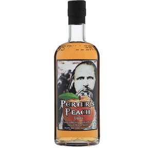 Ogden's Own Distillery Porter's Peach Liqueur 750ml buy online great american craft spirits
