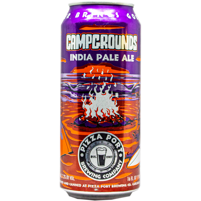 PIZZA PORT CAMPGROUNDS IPA 16.oz
