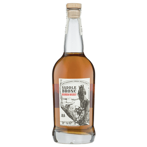 Rattlesnake Creek Saddle Bronc Bourbon Whiskey 750mL