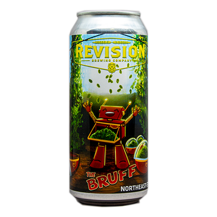 REVISION THE BRUFF HAZY DIPA 16.oz