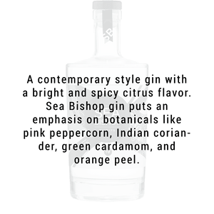 Sea Bishop Spirits Premium Gin 750ml