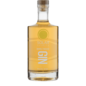 solar distillery barrel gin buy online great american craft spirits