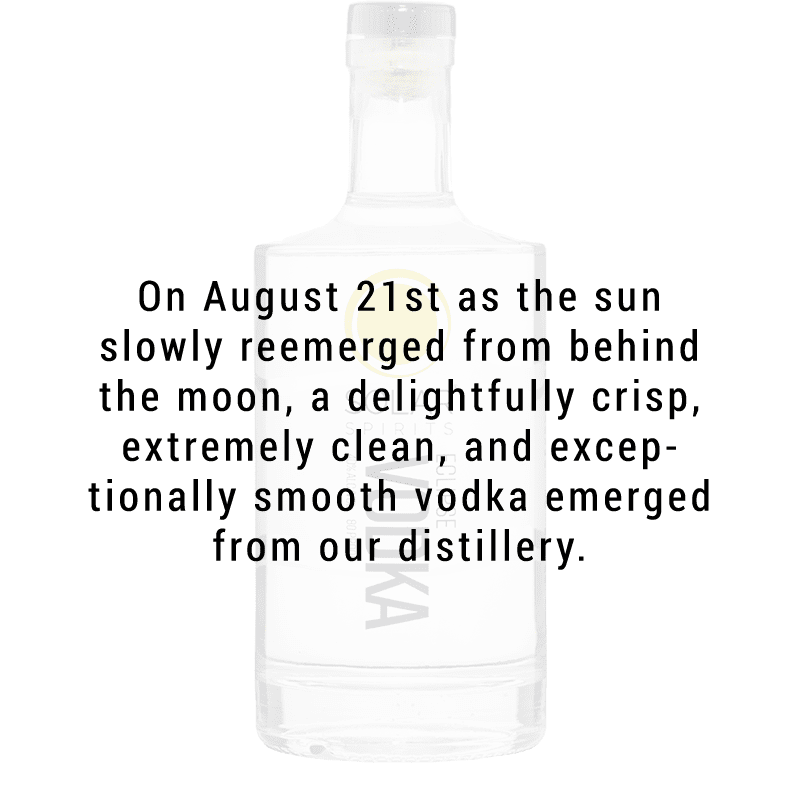 Solar Spirits Eclipse Vodka 750ml