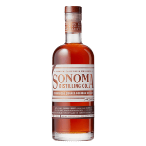 Sonoma Distilling Distiller's Edition Cherrywood Smoked Bourbon Whiskey 750mL