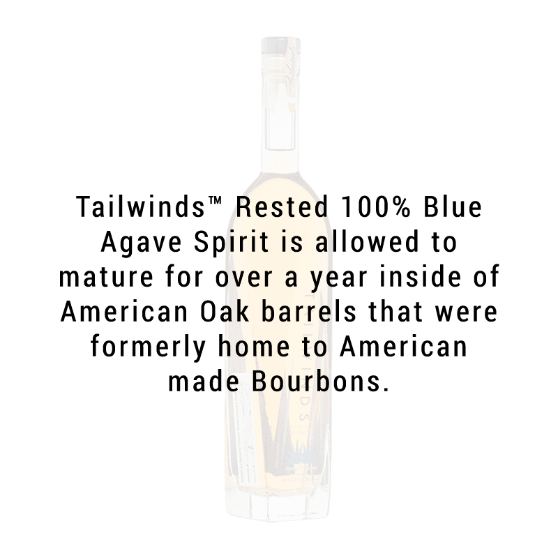 Tailwinds Distilling 100% Blue Agave Spirit Rested 750ml