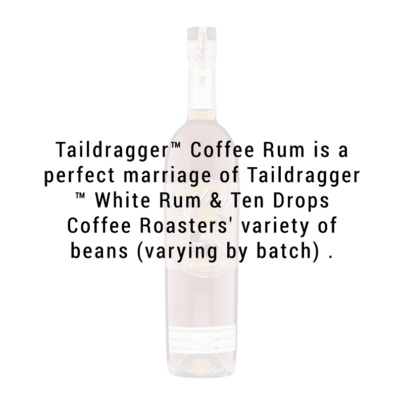Tailwinds Distilling Taildragger Coffee Rum 750ml